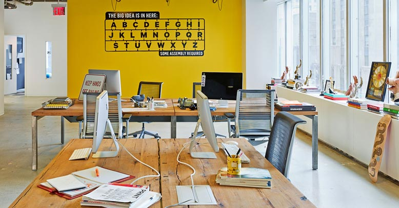 Large Advertising Firm, Specialty Table desks