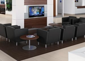 Large Car Dealership, Custom Kimball Furniture