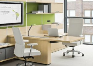 Large Corporation, Steelcase Flexframe, Steelcase Siento Chair