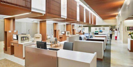 Large Hospital, Custom Millwork solution