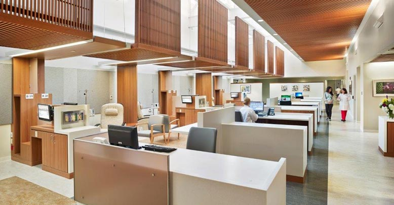 Large Hospital, Custom Millwork solution